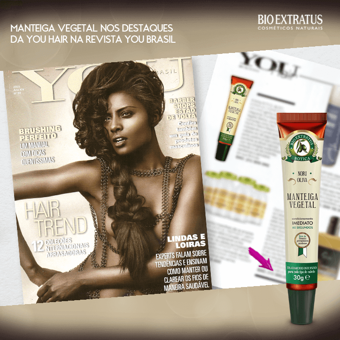 Manteiga Vegetal Botica na Revista You
